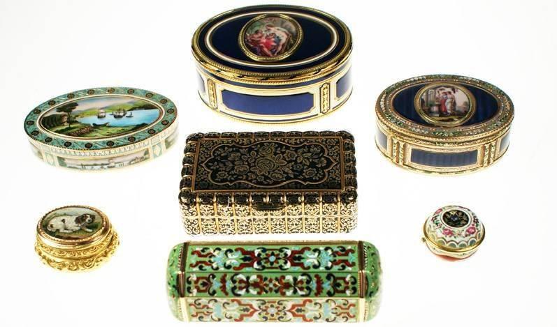 Enamel Butterfly Box - The Antique Enamel Company