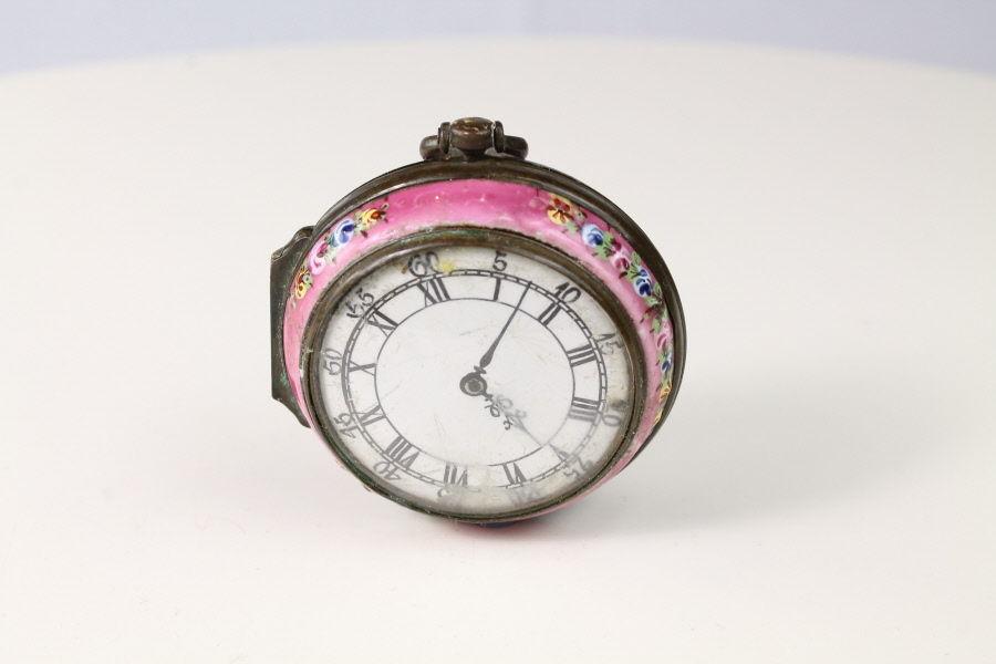 Bilston Toy Watch Box, Faux Montre