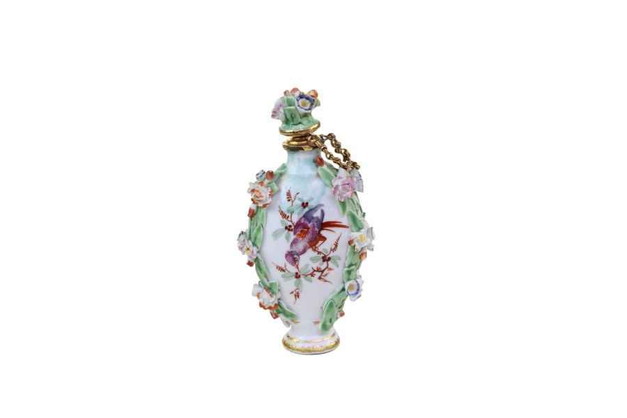 Gold Mounted Chelsea Scent Bottle