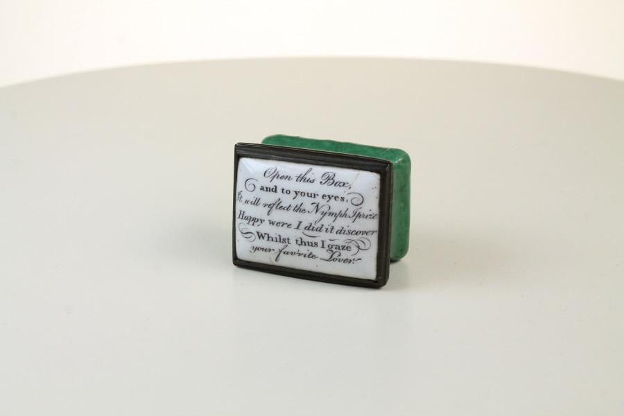 Bilston Enamel Patch Box