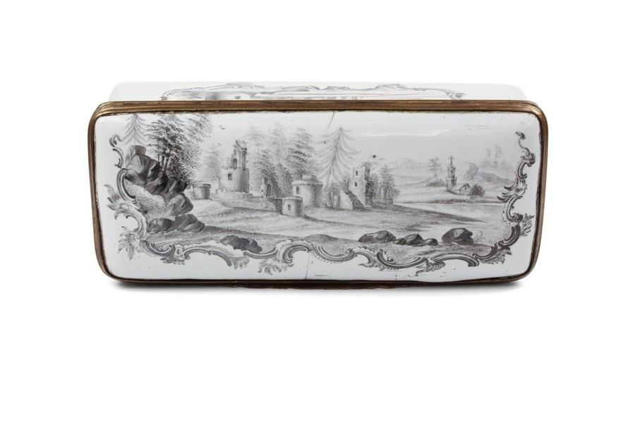 German enamel box