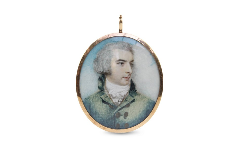 English portrait miniature