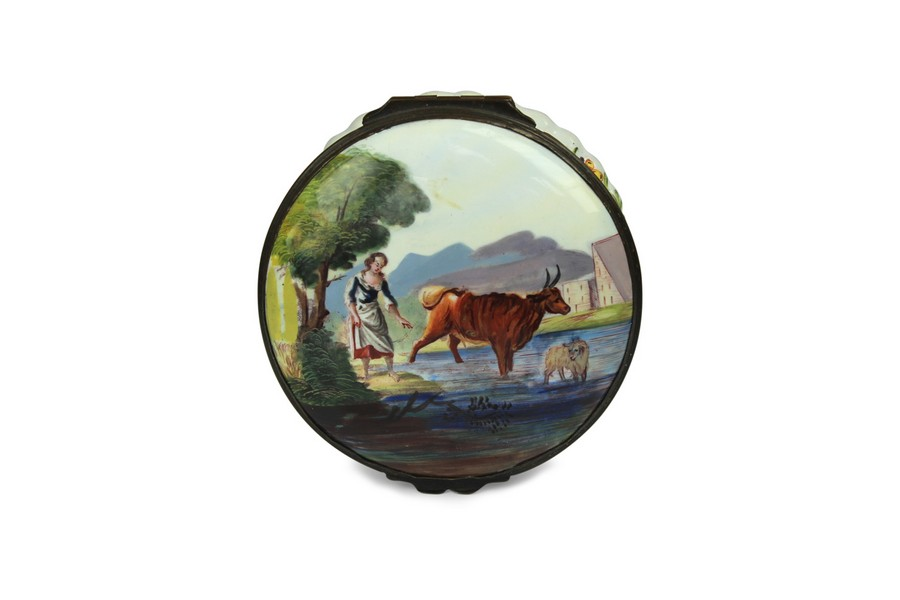 An English Enamel Snuff Box