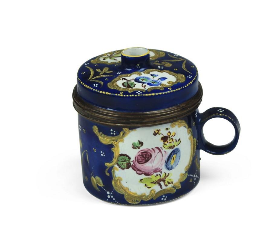 An English Enamel Bouje Box