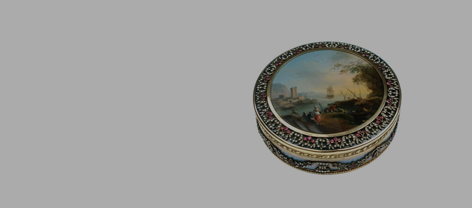 Gold and Enamel Boxes