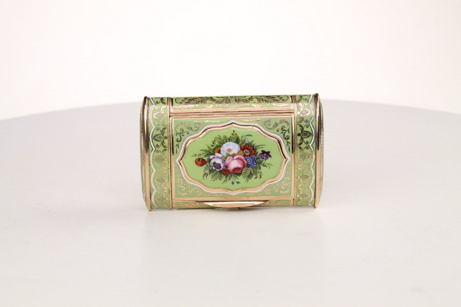 Fine Gold and Enamel Box