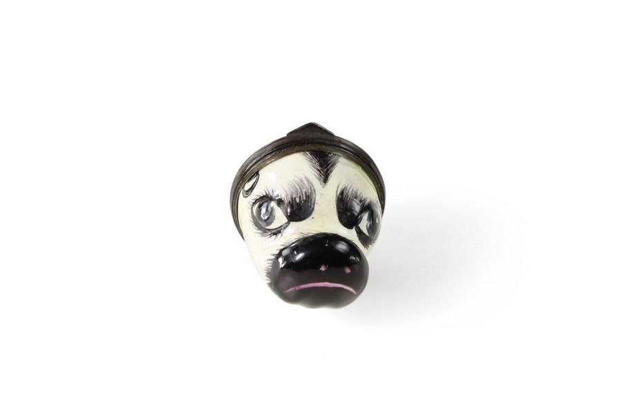 Bilston Miniauture pugs head