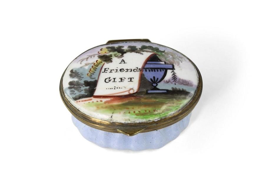 "Bilston Patch Box ""A friends gift"""