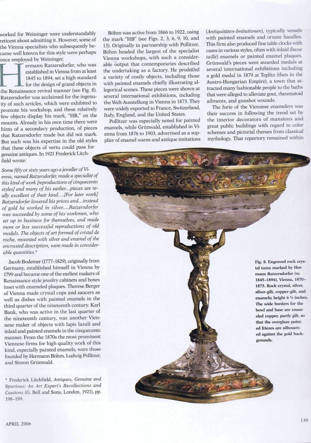 the magazine antiques06 April 2006.6