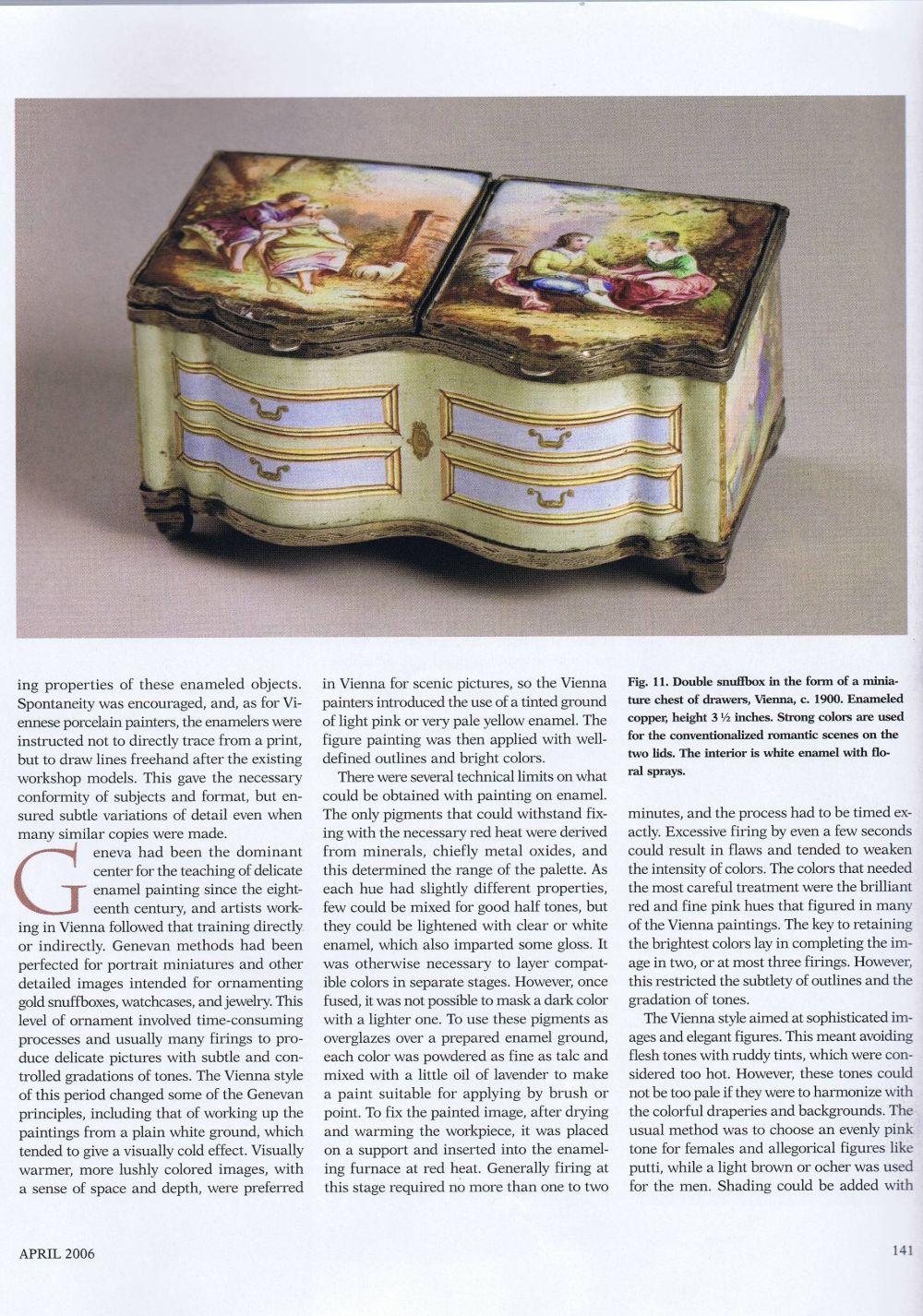 the magazine antiques06 April 2006.8