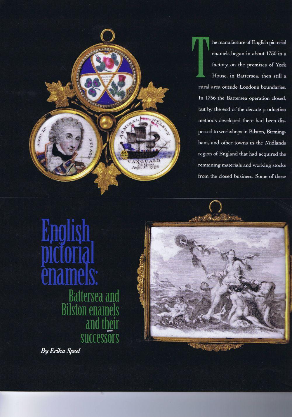 the magazine antiques07 April 2006.1
