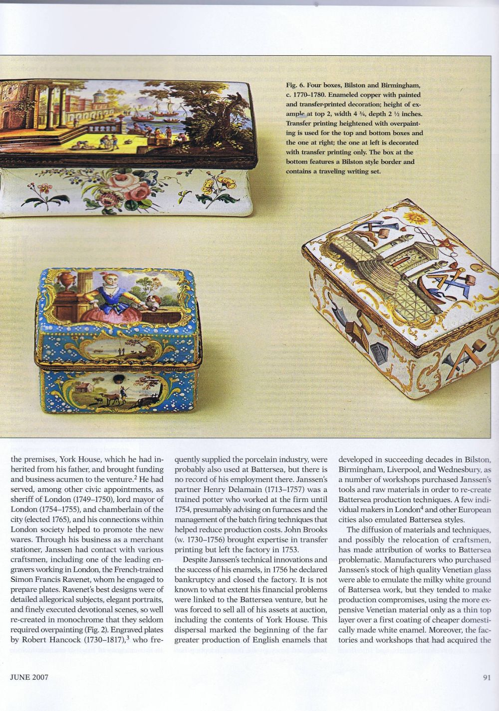 the magazine antiques07 June 2007.4