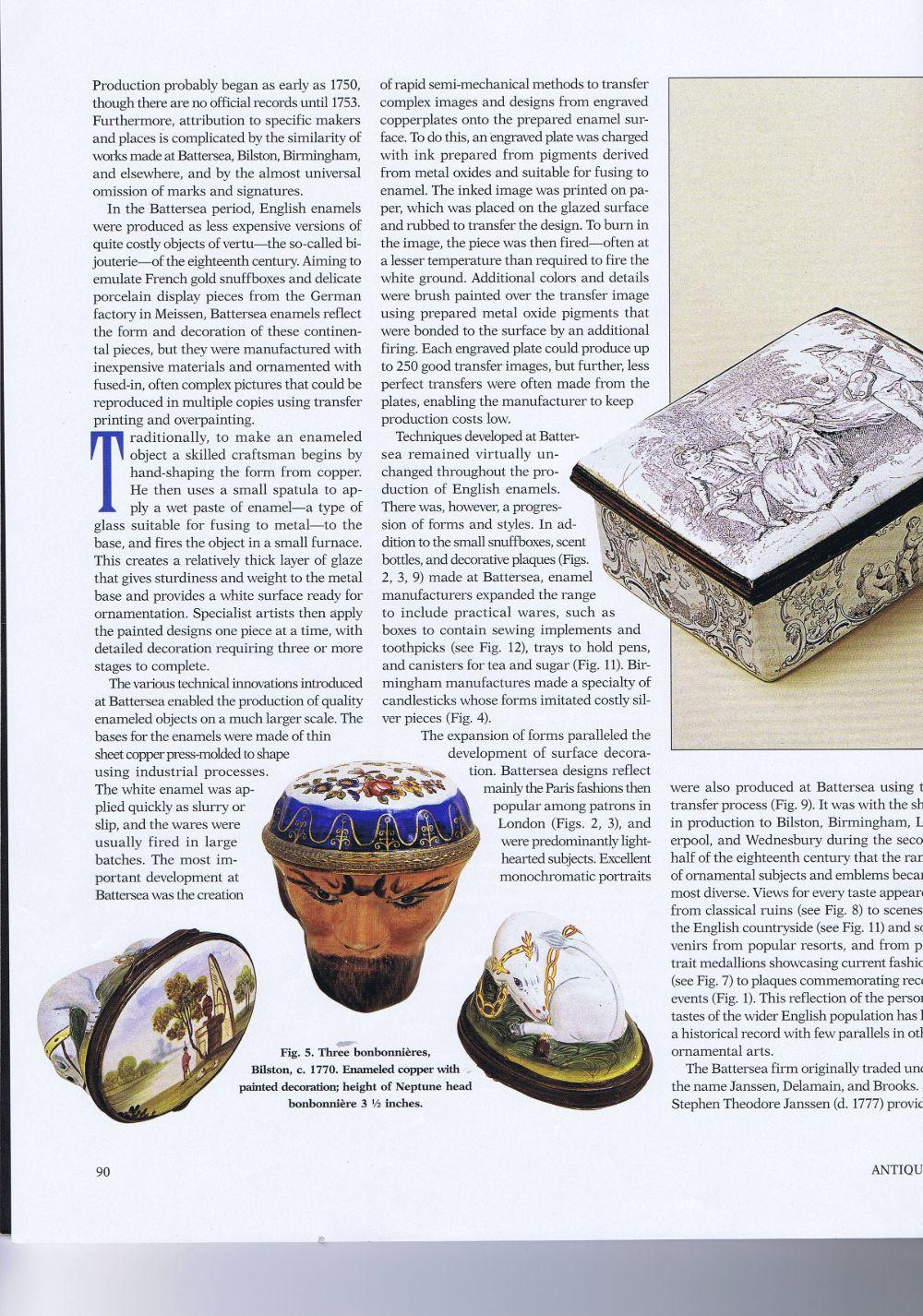 the magazine antiques07 Junel 2007.3