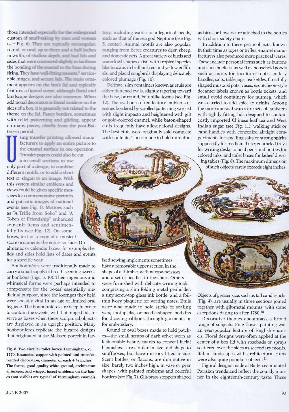 the magazine antiques07.6. June 2007